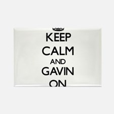 Keep Calm and Gavin ON Magnets