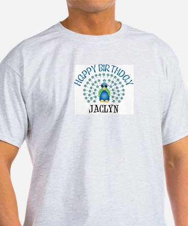 Happy Birthday JACLYN (peacoc T-Shirt