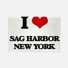 I love Sag Harbor New York Magnets