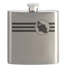 Motorcycle Racing Stripes Flask