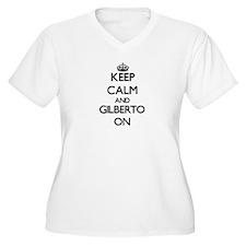 Keep Calm and Gilberto ON Plus Size T-Shirt