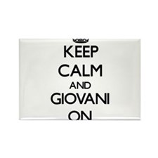 Keep Calm and Giovani ON Magnets