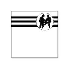 Sumo Wrestling Stripes Sticker