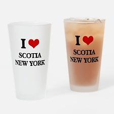 I love Scotia New York Drinking Glass
