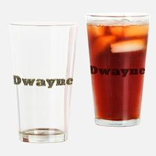 Dwayne Gold Diamond Bling Drinking Glass