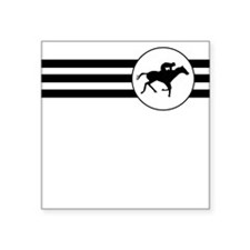 Horse Racing Stripes Sticker