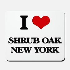 I love Shrub Oak New York Mousepad