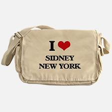 I love Sidney New York Messenger Bag