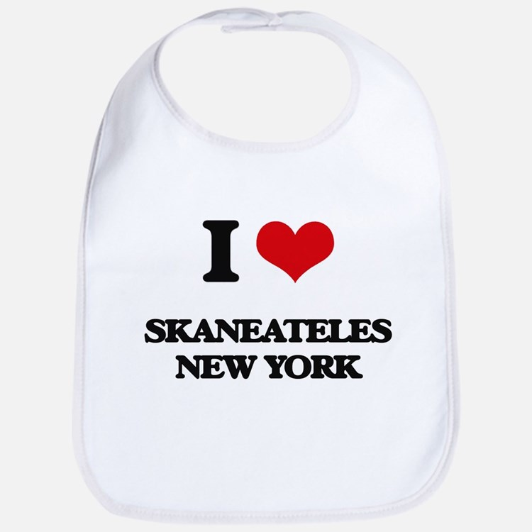 I love Skaneateles New York Bib