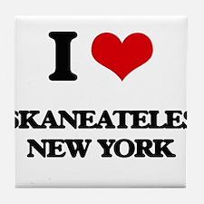 I love Skaneateles New York Tile Coaster