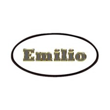 Emilio Gold Diamond Bling Patch