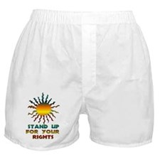 Stand Up For Your Rights Boxer Shorts