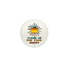 Stand Up For Your Rights Mini Button (100 pack)
