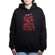 Keep Calm Watch Horror Women's Hooded Sweatshirt