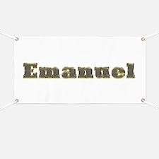 Emanuel Gold Diamond Bling Banner