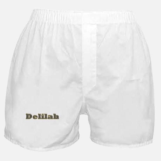 Delilah Gold Diamond Bling Boxer Shorts