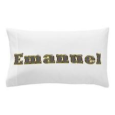 Emanuel Gold Diamond Bling Pillow Case