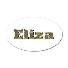 Eliza Gold Diamond Bling Wall Decal