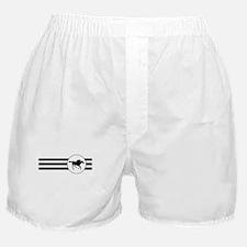 Horse Racing Stripes Boxer Shorts