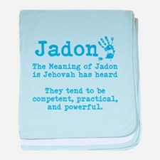 The Meaning of Jadon baby blanket