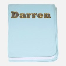 Darren Gold Diamond Bling baby blanket