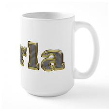 Darla Gold Diamond Bling Mugs
