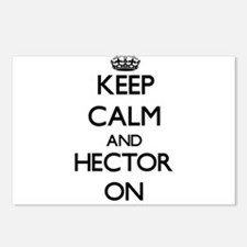 Keep Calm and Hector ON Postcards (Package of 8)