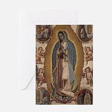 Virgin of Guadalupe. Greeting Card