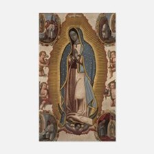 Virgin of Guadalupe. Decal