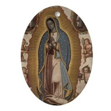 Virgin of Guadalupe. Oval Ornament