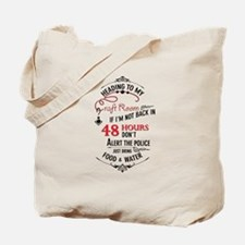 Heading to my craft room Tote Bag