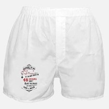 Heading to my craft room Boxer Shorts
