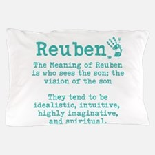 The Meaning of Reuben Pillow Case