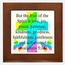 GALATIANS 5:22 Framed Tile