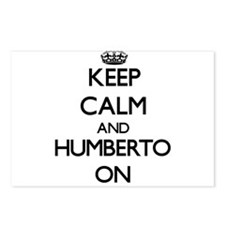 Keep Calm and Humberto ON Postcards (Package of 8)