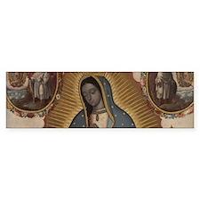 Virgin of Guadalupe. Bumper Bumper Sticker