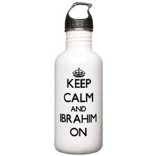 Keep Calm and Ibrahim Water Bottle