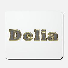 Delia Gold Diamond Bling Mousepad
