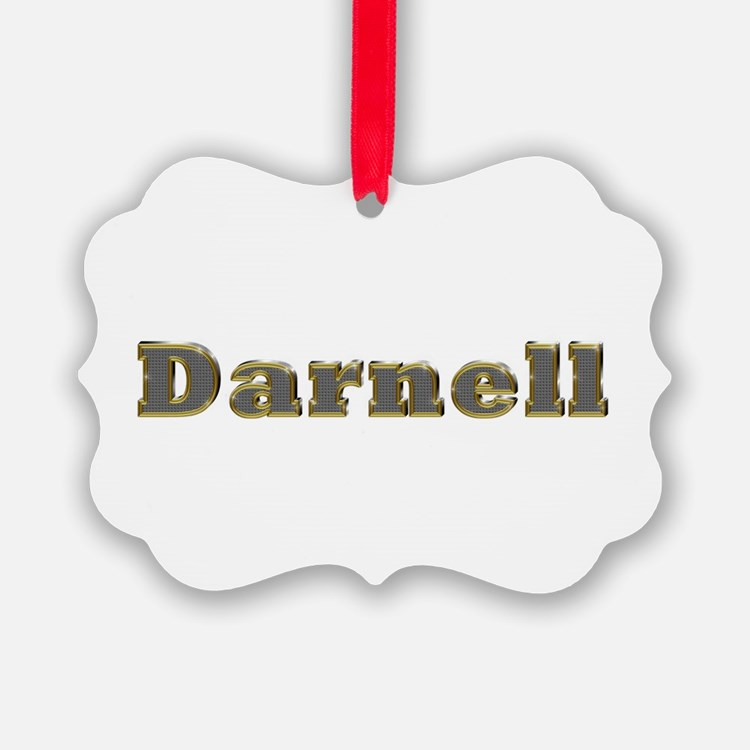 Darnell Gold Diamond Bling Ornament