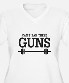 Can't Ban These Guns Plus Size T-Shirt