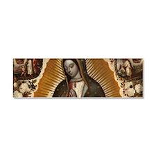 Virgin of Guadalupe Car Magnet 10 x 3
