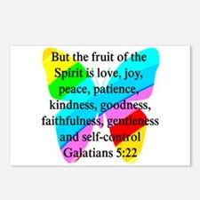GALATIANS 5:22 Postcards (Package of 8)