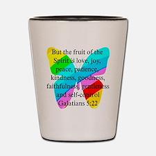GALATIANS 5:22 Shot Glass