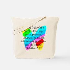 GALATIANS 5:22 Tote Bag