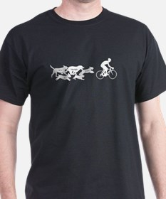 The Chase Bicycling Design T-Shirt