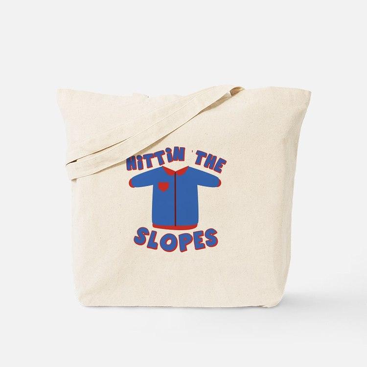 Hittin Slopes Tote Bag