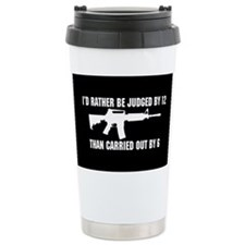 Cute Right bear arms Travel Mug