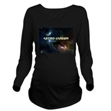 Astro-Lander Long Sleeve Maternity T-Shirt