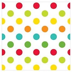 Polka Dots Poster
