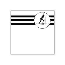 Biathlete Stripes Sticker